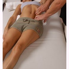 Finger Pressure on Rectus Abdominus - Clinical / Medical Massage Therapy School in Jacksonville, Florida