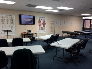 FLSAB classroom for your medical massage therapy career